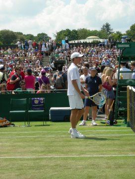 Mitchell at Wimbledon
