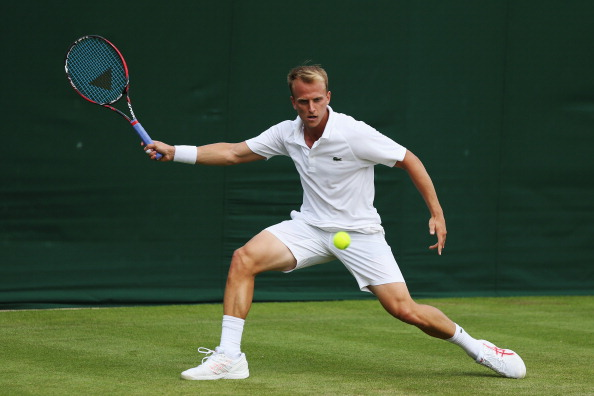 Kudla is the first American male to advance at Wimbledon (Photo by Steve Bardens/Getty Images)