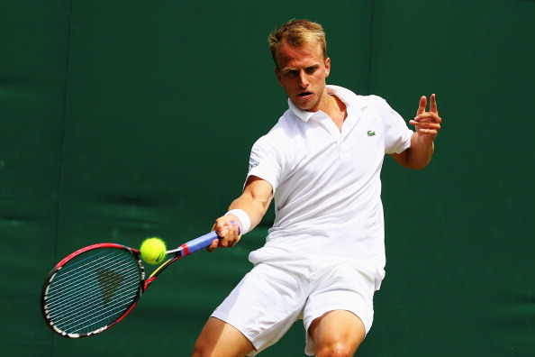 Kudla lost in the second round to Nishikori (Photo by Al Bello/Getty Images)